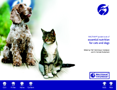 Waltham: Essential Dog and Cat Nutrition Booklet